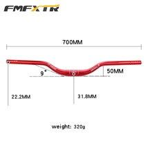 Manillar de bicicleta FMFXTR 700mm 31,8mm XM MTB DH de carreras de montaña manillar de manillar de grado 9.