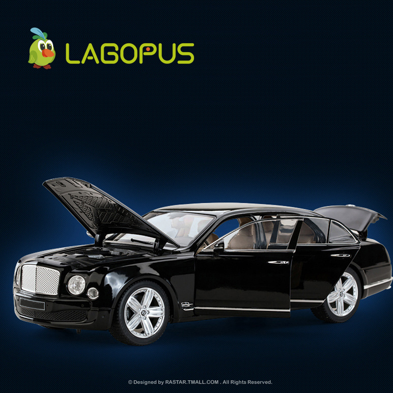 Высокая моделирования 1:18 весы автомобиля игрушечные лошадки Luxry металл литья под давлением автомобили модель игрушки коллекци