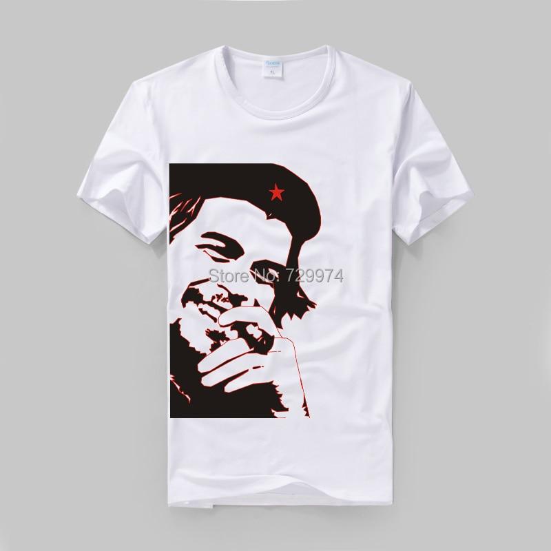 Che Guevara smoking a cigar modal cotton t shirt in T