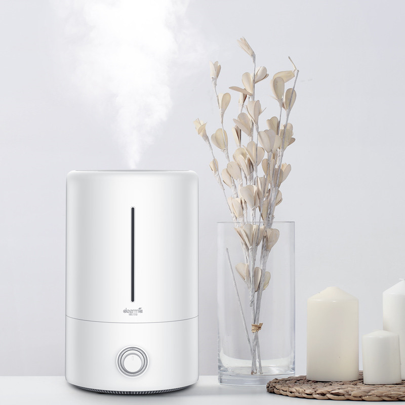 Image 5 - Original Xiaomi Mijia Deerma 5L Air Humidifier Touch Version 35db Quiet Air Purifying for Air conditioned Rooms Office household-in Smart Remote Control from Consumer Electronics