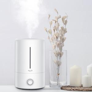 Image 5 - オリジナル Xiaomi Mijia Deerma 5L 空気加湿器タッチバージョン 35db 静音空気浄化のためのエアコン完備の客室オフィス家庭用