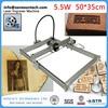 New Listing 5.5 Large Area Mini DIY Laser Engraving Engraver Machine,Laser Engraving Cutting Machine