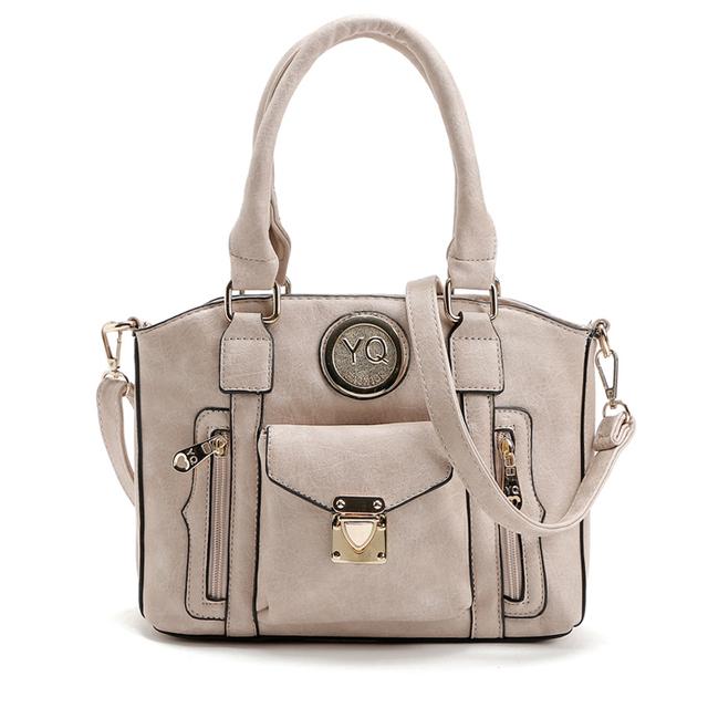 Women Bag Ladies Vintage Tote Bags Bolsos Mujer De Marca Famosa 2016 Fashion Handbag Women Messenger Bags Female Shoulder Bag