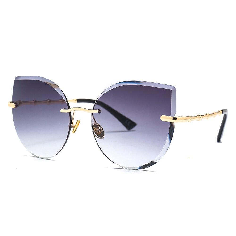 e1c0a4b109 Comprar 2019 De Ojo Gato Gafas Sol Para Mujer Recorte Tinte ...