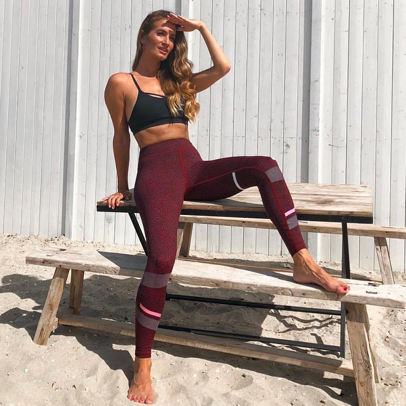 c7add1b297 Printing Women's Butt Lift Sport Leggings Fitness Gym Leggings Seamless  Slim Compression Squat Tights High Waist Yoga Pants