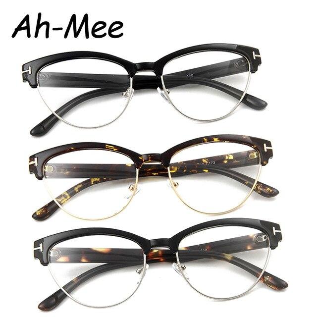 Tienda Online Vintage gafas mujer diseñador de marca Gato ojo gafas ...