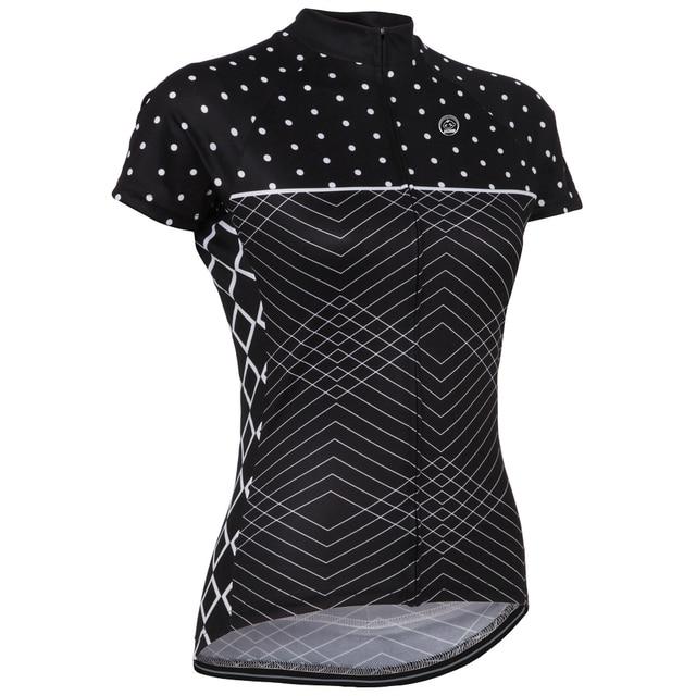 Women NEW Hot 2016 JIASHUO pro   road RACING Team Bike Pro Cycling Jersey   Cycling  Clothing   Breathing Air Black 60bdf629e