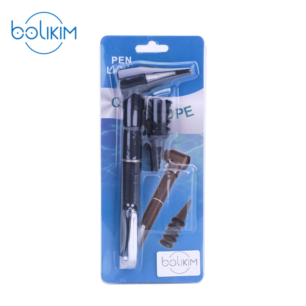 BOLIKIM Otoskop Oftalmoskop Diagnostisk Penlight Otoskop Pen Style - Sjukvård - Foto 1