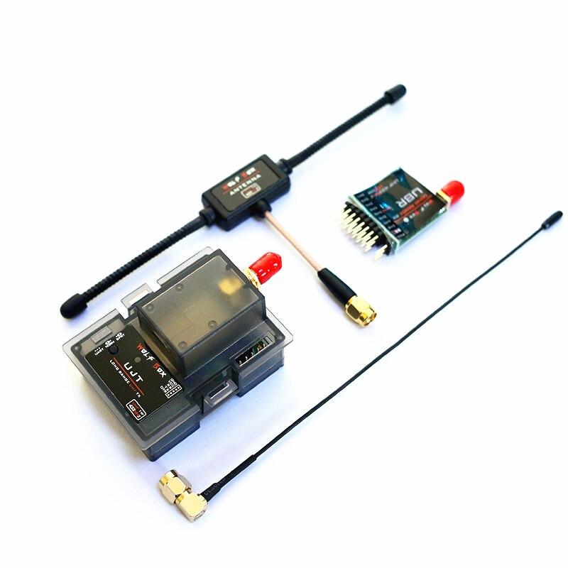 WOLFBOX LONG RANGE UHF 1W 100MW 433MHz TX+RX Transmitter