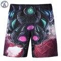 Calções dos homens novos da forma 3d digital print anime imagem bonita casual praia shorts calças curtas