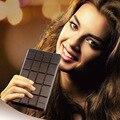 Ultra-delgada de bombones de chocolate banco de la energía 3300 mah con la linterna llevada usb paquete de batería externo portable para el iphone/samsung/htc