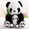 25 см мать и малыш панда плюшевые игрушки прекрасные куклы плюшевые игрушки прекрасный подарок для детей бесплатная доставка