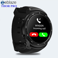 Zeblaze Тор про 3g Smartwatch телефон Android Смарт часы MTK6580 4 ядра 1 ГБ + 16 ГБ gps Bluetooth gps спортивные Носимых устройств