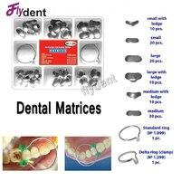 100Pcs Dental Metal Matrices Dental Matrix Sectional Contoured Metal Matrices No 1 398