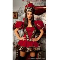 Królowa leopard Boże Narodzenie kostium dla kobiety cosplay costume fancy dress sexy cosplay disfraz seksowna sensuais fantazjach sexy sukienka