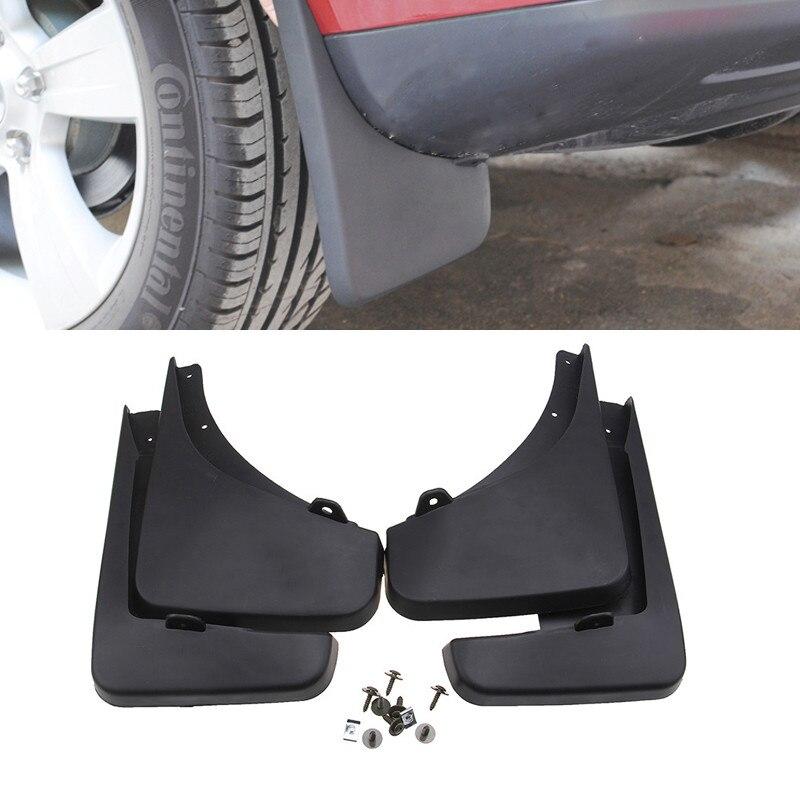 Garde-boue de voiture pour 2011-2015 pour Jeep boussole Deluxe moulé avant et arrière garde-boue garde-boue 4 pièces/ensemble