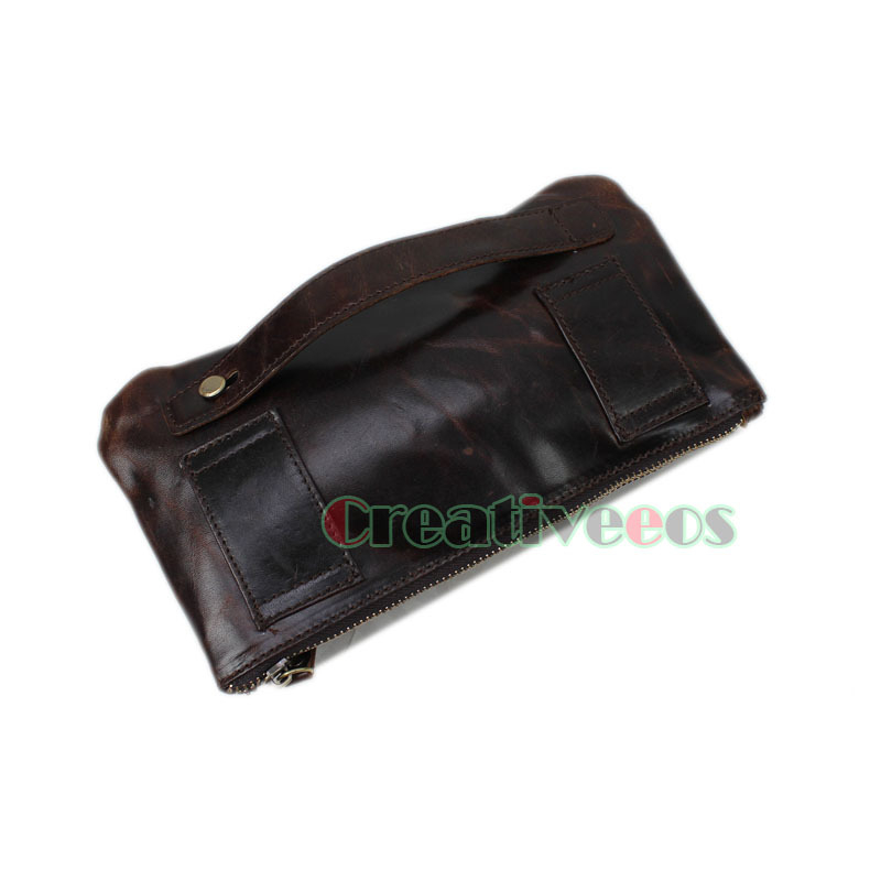 homens de cera de petróleo Suitabel For : Travel , hiking, Cell/mobile Phone Bag Pouch