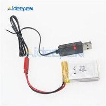 3,7 V 500mA выход 1S Lipo литиевая батарея USB кабель Зарядное устройство Красный JST Женская головка для Lipo батареи