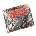 Hot Movie Walking Dead Wallets PU Leather Purse Men Women Gift Dollar Cartoon Anime Animation Hero Bags Short Wallet