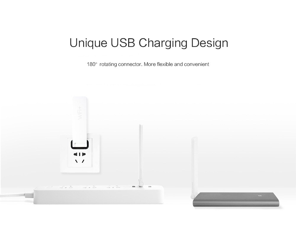 Xiaomi WIFI Repeater 2 Universal Repitidor Wi-Fi Extender 2 Amplificador 300Mbps Extende Signal Enhancement Wireless Routers (8)