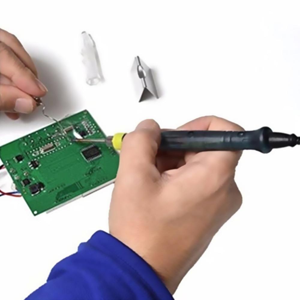 1 piezas Mini USB portátil 5 V 8 W soldador Fabricación de Cable eléctrico soldador Pen/Tip Touch interruptor superior venta nave de la gota