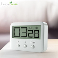 Digital Timer Lemorange Magnetic LCD Large Screen With Loud Alarm Count Up Down Clock Kitchen Cooking