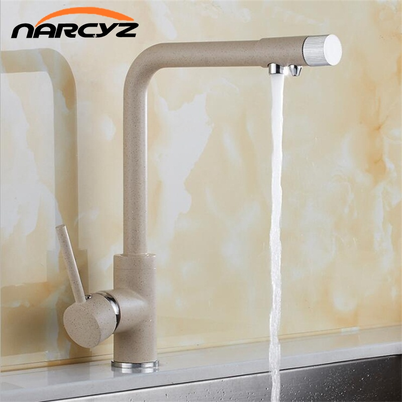 Kitchen Faucets Chrome Kitchen Sink Water Faucet 360 Rotate Swivel Faucet Mixer Single Holder Single Hole Black Mixer Tap XT-171