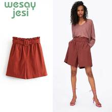 Hot ladies shorts women summer Casual hot Office Lady Vintage sexy short pants