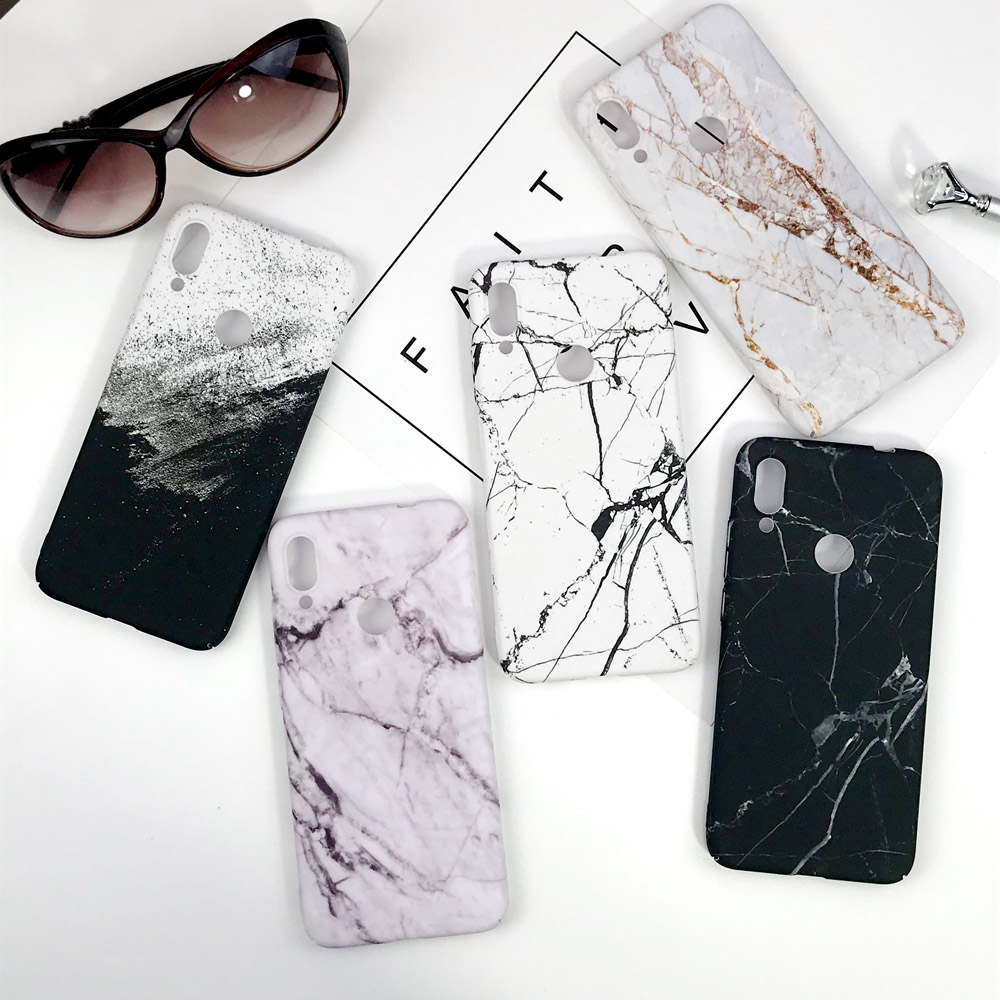 Luxury Marble <font><b>Case</b></font> For <font><b>Huawei</b></font> <font><b>P</b></font> <font><b>Smart</b></font> <font><b>2019</b></font> Phone <font><b>Case</b></font> Ultra Slim Hard PC Plastic Back Cover For Funda <font><b>Huawei</b></font> <font><b>P</b></font> <font><b>Smart</b></font> <font><b>2019</b></font> <font><b>Case</b></font> image