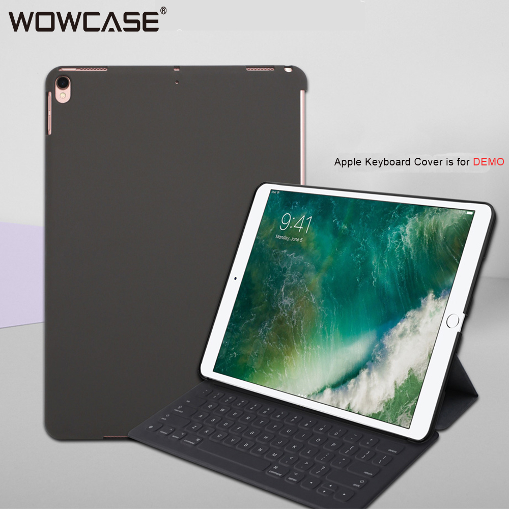 For iPad 2018 Case WOWCASE Luxury Matte Ultra Slim PC Back Cover Match Apple Smart Keyboard Cover For iPad 2017 Air 1 A1893 A195|Tablets & e-Books Case| |  - title=