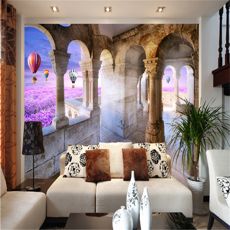 3d HD photo non-woven fabric wallpaper palace flower sea 3d TV background mural wallpaper painting decoration for bedding room custom 3d photo mural wallpaper tv background wallpaper bedding room dynamic sports car 3d non woven wallpapers home decor