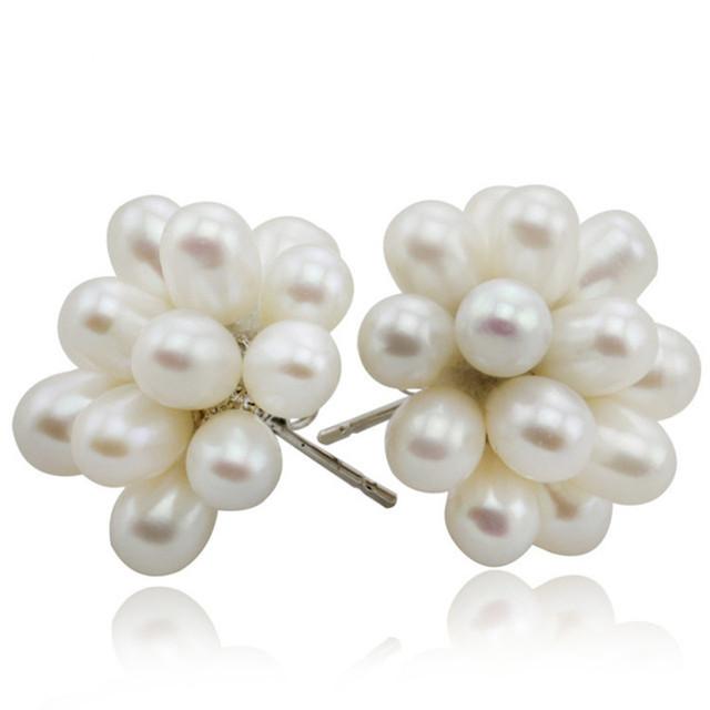 Genuine Natural Freshwater Pearl Earrings
