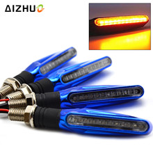 Motorcycle Turn Signal Light Flexible LED Flashing Indicators Blinkers light for BMW S1000R S1000RR C600Sport DUCATI ST2 ST3 ST4