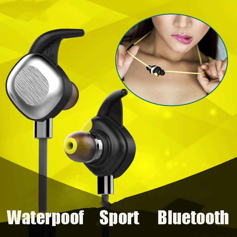 ФОТО Morul U5 Plus IPX7 Waterproof Sport Earphone Magnetic Stereo Auriculare Wireless Earbuds Running Bluetooth Headset Microphone P5