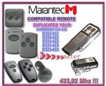 Aftermarket MARANTEC D302-433, D304-433, D313-433, D323-433, D321-433, Comando 131-433 compatível remoto muito