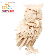 Free delivery, Butterfly, Squirrels, Penguins, Horse 3D wooden puzzle toy,toys for children,child toy