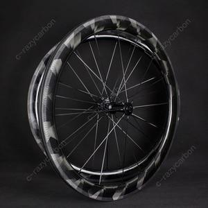 Image 1 - Ruedas de rayos X de carbono ultraligeras, cubiertas de 30mm 50mm/ruedas de carretera tubulares, súper ligeras, Llantas de Bicicleta de carretera, 2019
