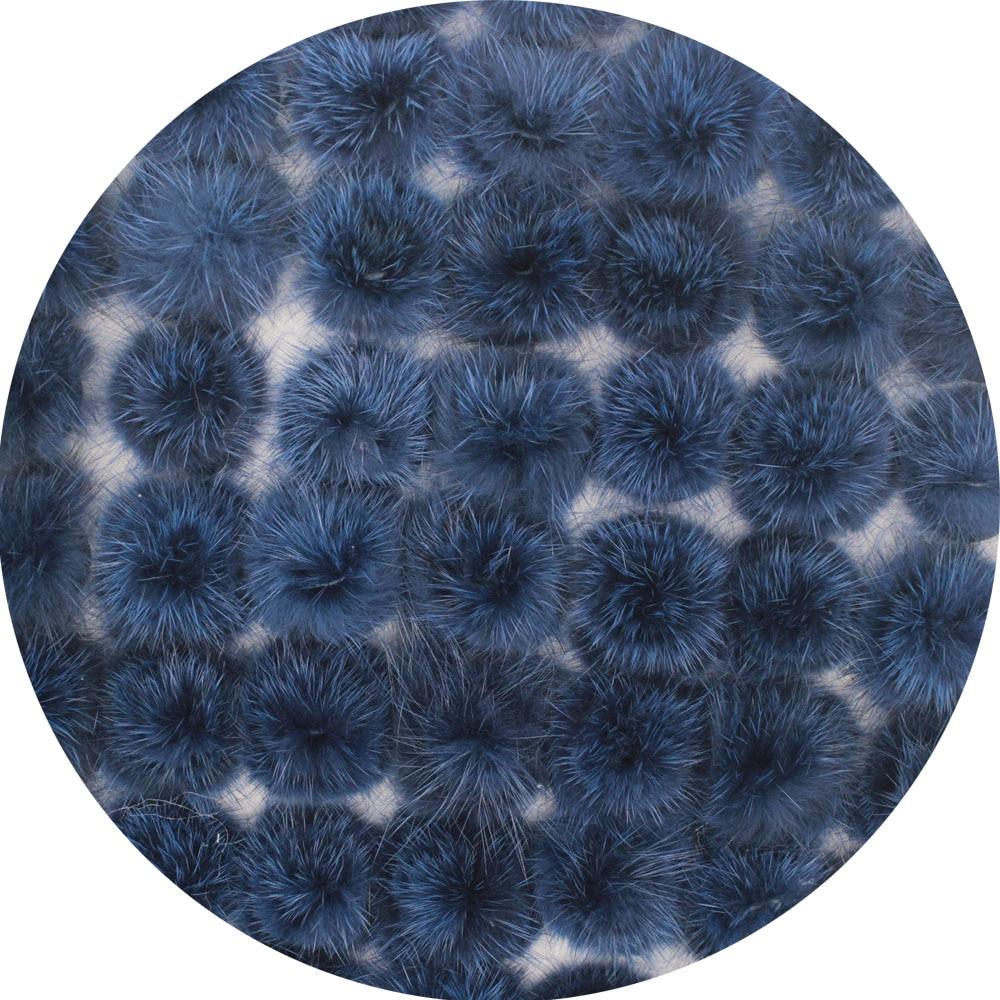 100pcs Genuine Mink Fur Halfsphere Ball Fur Pom Pom Flower/jewelry findings/Ring Earrings Necklace making/diy accessories