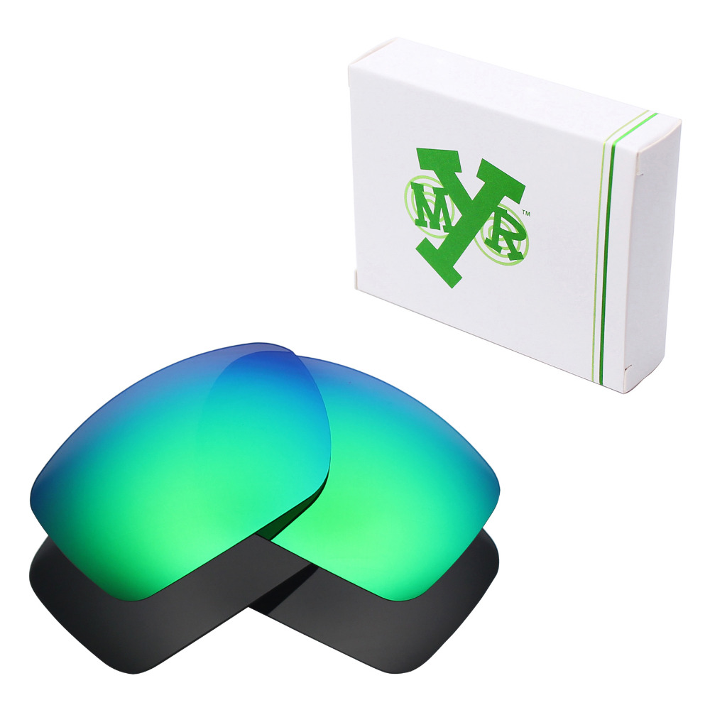 ▻2 Pairs Mryok Polarized Replacement Lenses for Oakley Big Taco ...