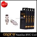 Aspire Original Novo Núcleo Cabeça de Substituição Inferior Vertical Bobina BVC Nautilus BVC Bobinas para Nautilus e Mini Nautilus 20 pçs/lote
