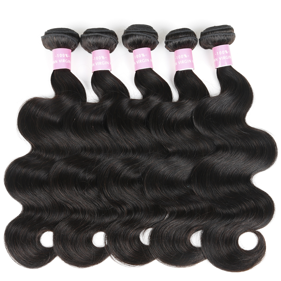 Brazilian Virgin Hair Body Wave Human Hair Bundles 8-28 Inch Hair Weave Bundles Shuangya Hair Extension Can Buy 3 Or 4 Bundles