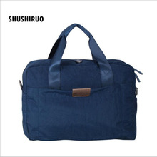 SHUSHIRUO High Quality Travel Bag Vanntett Unisex Bagasje Oxford Duffle Bag Solid Clothing Storage Man Kvinne Shoulder Handbags