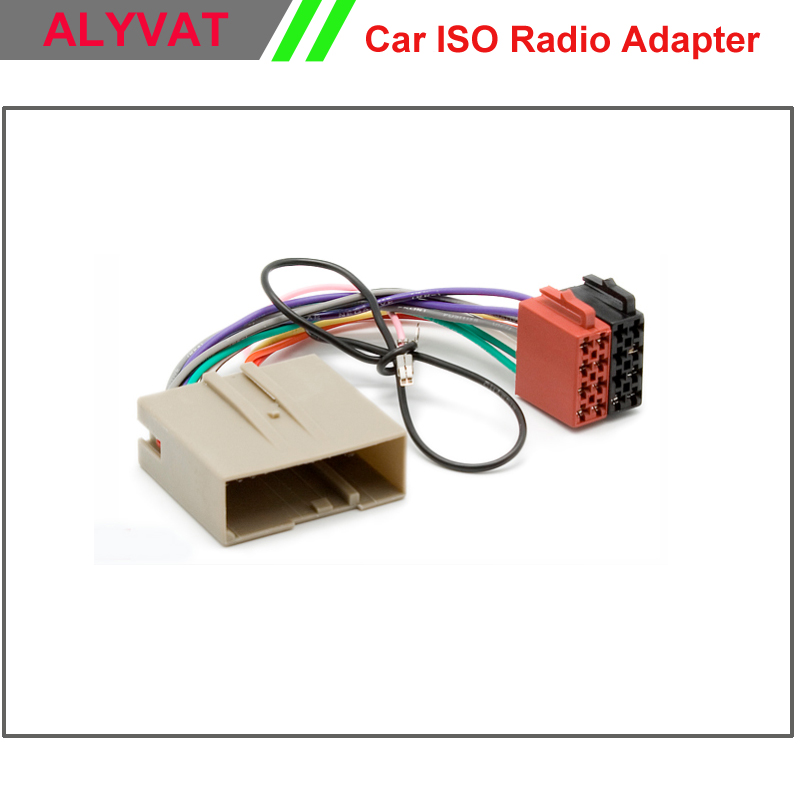 Car Iso Stereo Adapter Connector For Ford Fusion Fiesta