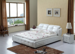 Contemporary king size modern genuine leather leisure soft bed bedroom furniture china.jpg 250x250