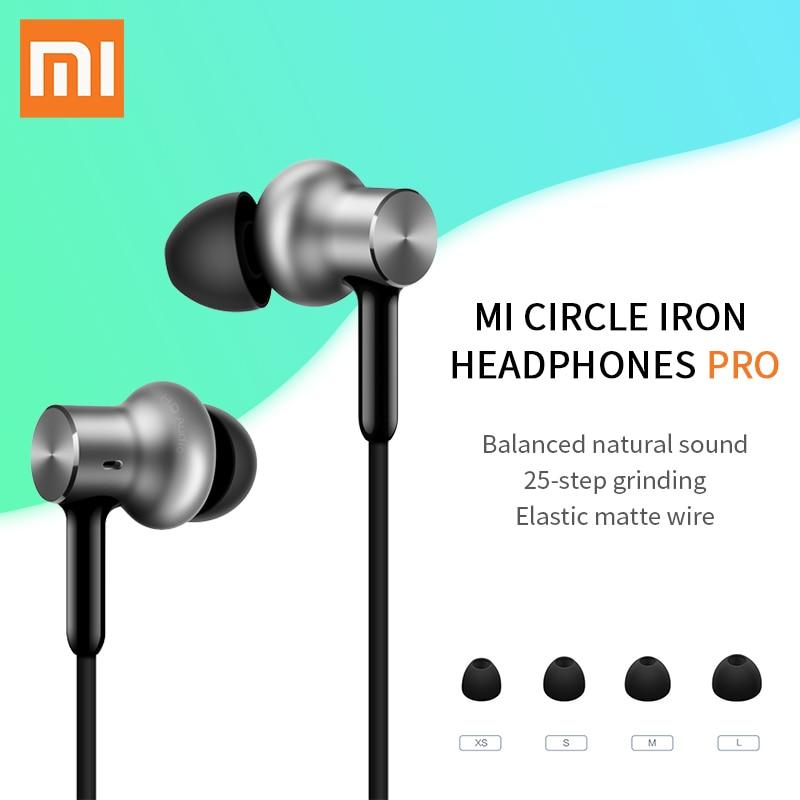 Xiaomi Mi Hybrid Pro HD Earphone Circle Iron Pro Triple Unit Dual Dynamic Balanced Armature Mic Graphene 100% Original малютка 2 смесь сухая молочная для детей 350г