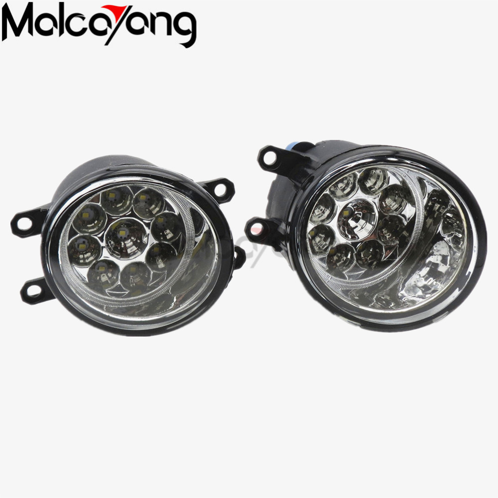for Toyota Avensis Saloon (ZRT27 ADT 27) 2009/10/11/-2015 FOG LAMPS Fog Lights Halogen car styling 81210-0D040 2 pcs set car styling front bumper light fog lamps for toyota avensis 2003 2009 fog lights left right 81210 06052