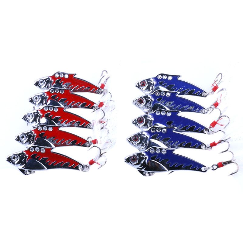 3 Pcs of ( LED Fish Lure Bait Light Deepwater Fishing Flashing Lamp Tackle Hooks Explosion models (Color: red, )