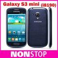 Galaxy S3 разблокирована оригинальный I8190 Galaxy S III мини-android-портативный двухъядерный 8 ГБ хранения Wifi GPS 5-мп камерой сотовый телефон отремонтированы