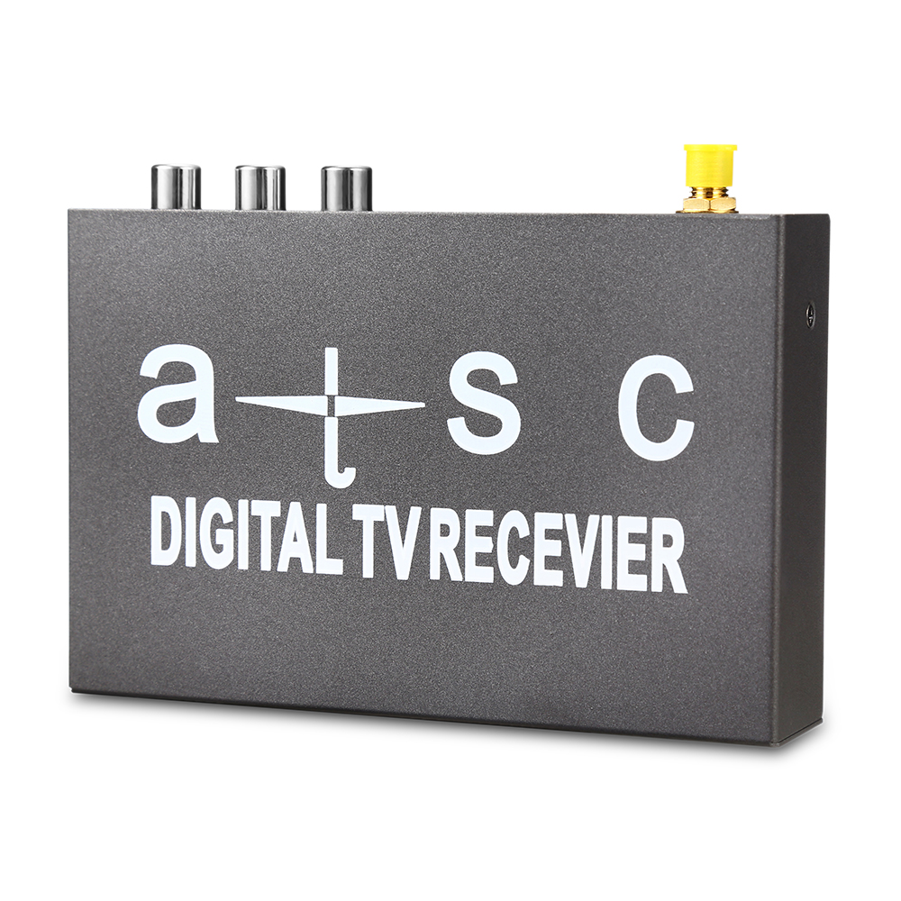 T858 Car HD / SD ATSC TV Receiver for Car Mobile Digital TV Box High Speed USB 2.0 PVR Receivers 1080p mobile dvb t2 car digital tv receiver real 2 antenna speed up to 160 180km h dvb t2 car tv tuner mpeg4 sd hd