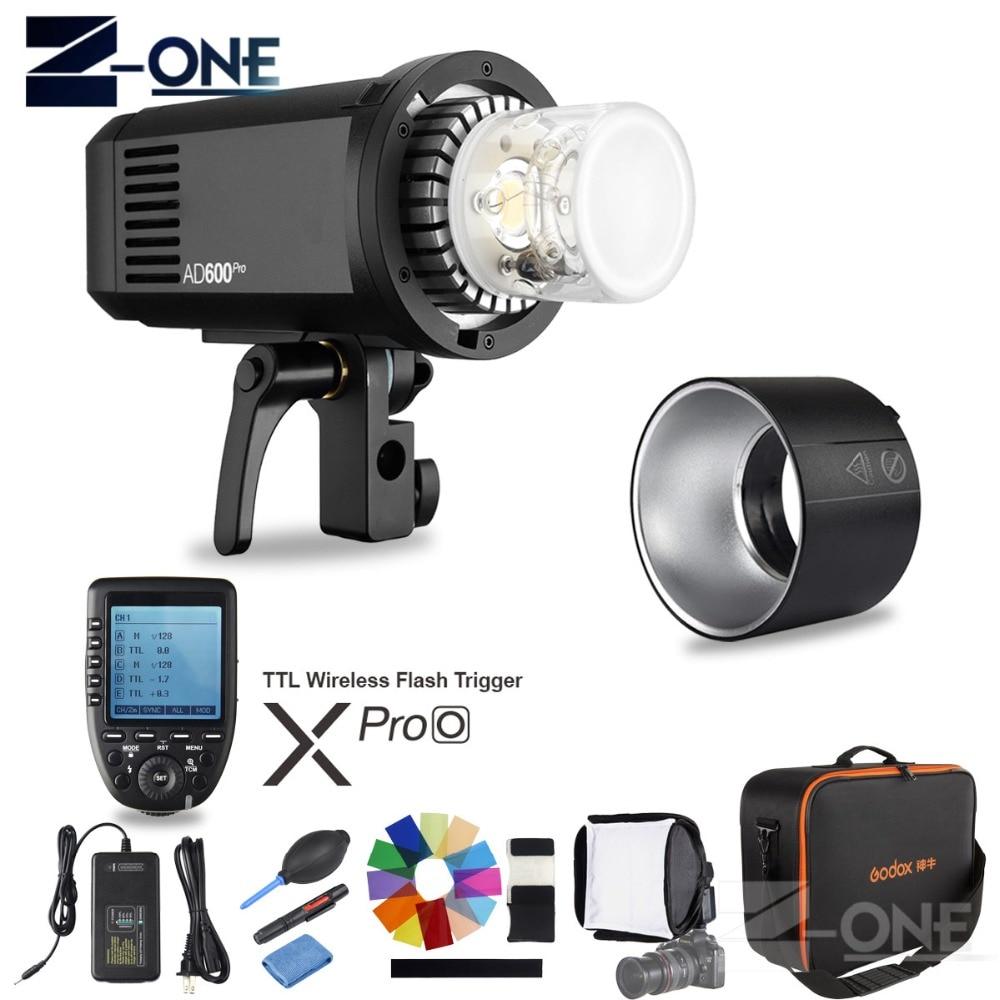 Godox AD600Pro TTL extérieur li-batterie 2.4G sans fil X système Studio Flash lumière stroboscopique + xpro-o Flash déclencheur pour appareil photo Olympus